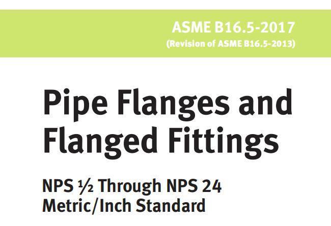Asme B16 5 Flange Specification Dimensions Ratings Octal Flange